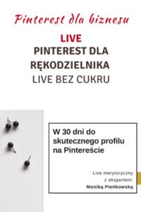 Pinterest dla rękodzielnika – Live Bez Cukru