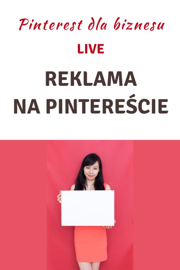 Live! Reklama na Pintereście