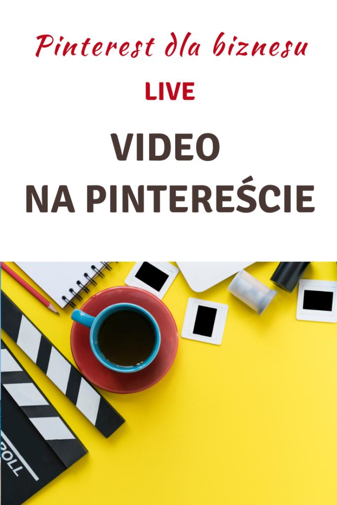 Live! Video na Pintereście
